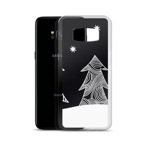 Stars and Trees Black | Samsung Case