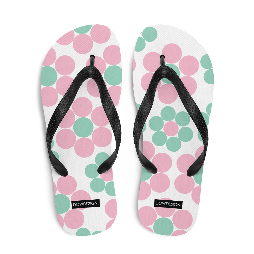 Happy Pastel Flowers | Flip-Flops