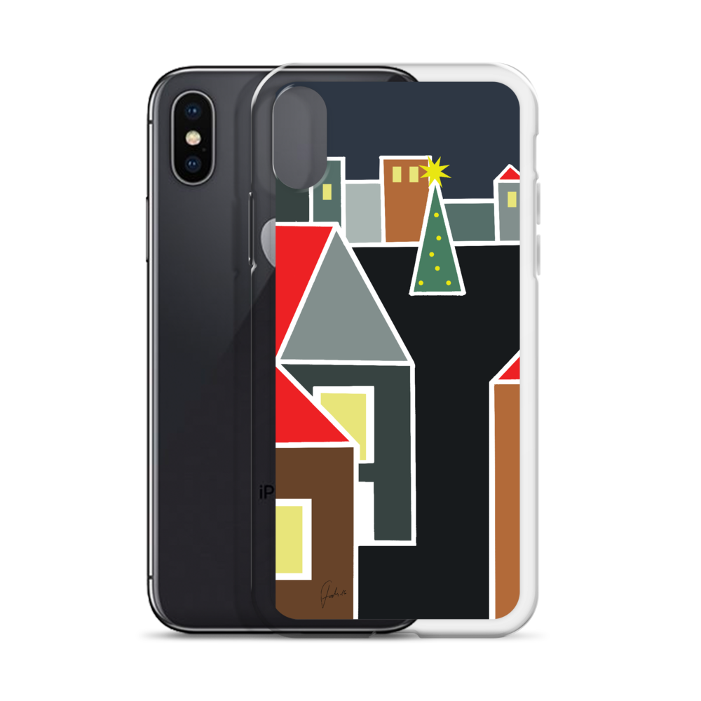 December Eve Red | iPhone Case