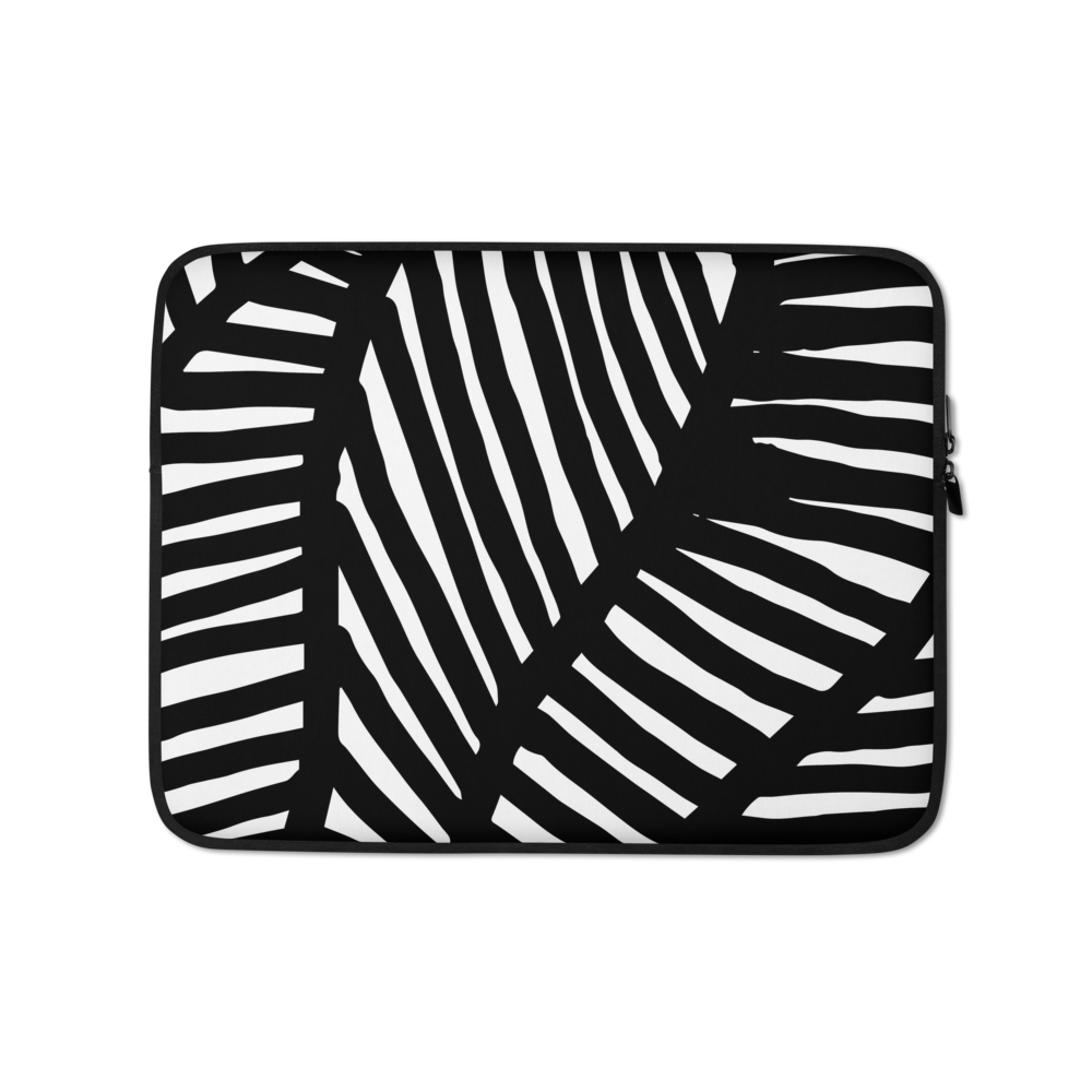 Black and White Ornament | Laptop Sleeve