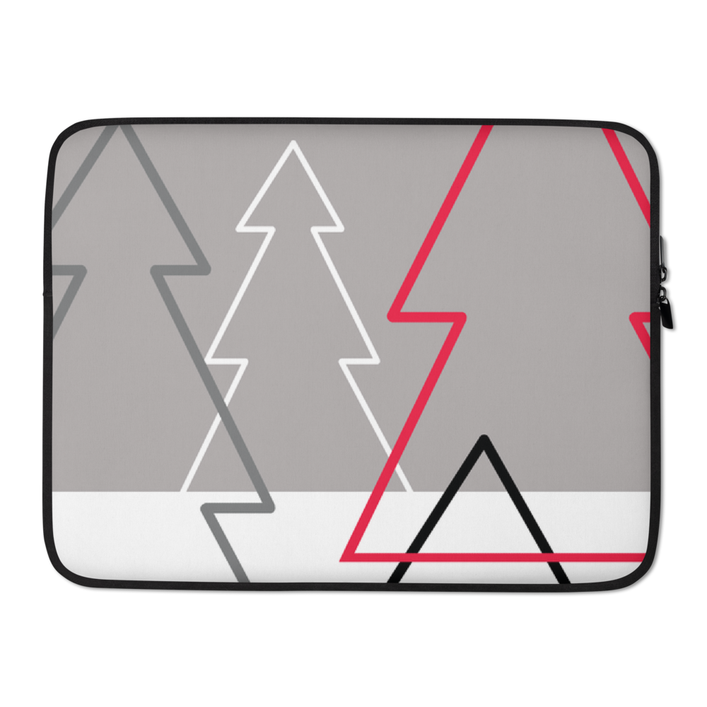 Christmas Tree Forest Colours | Laptop Sleeve