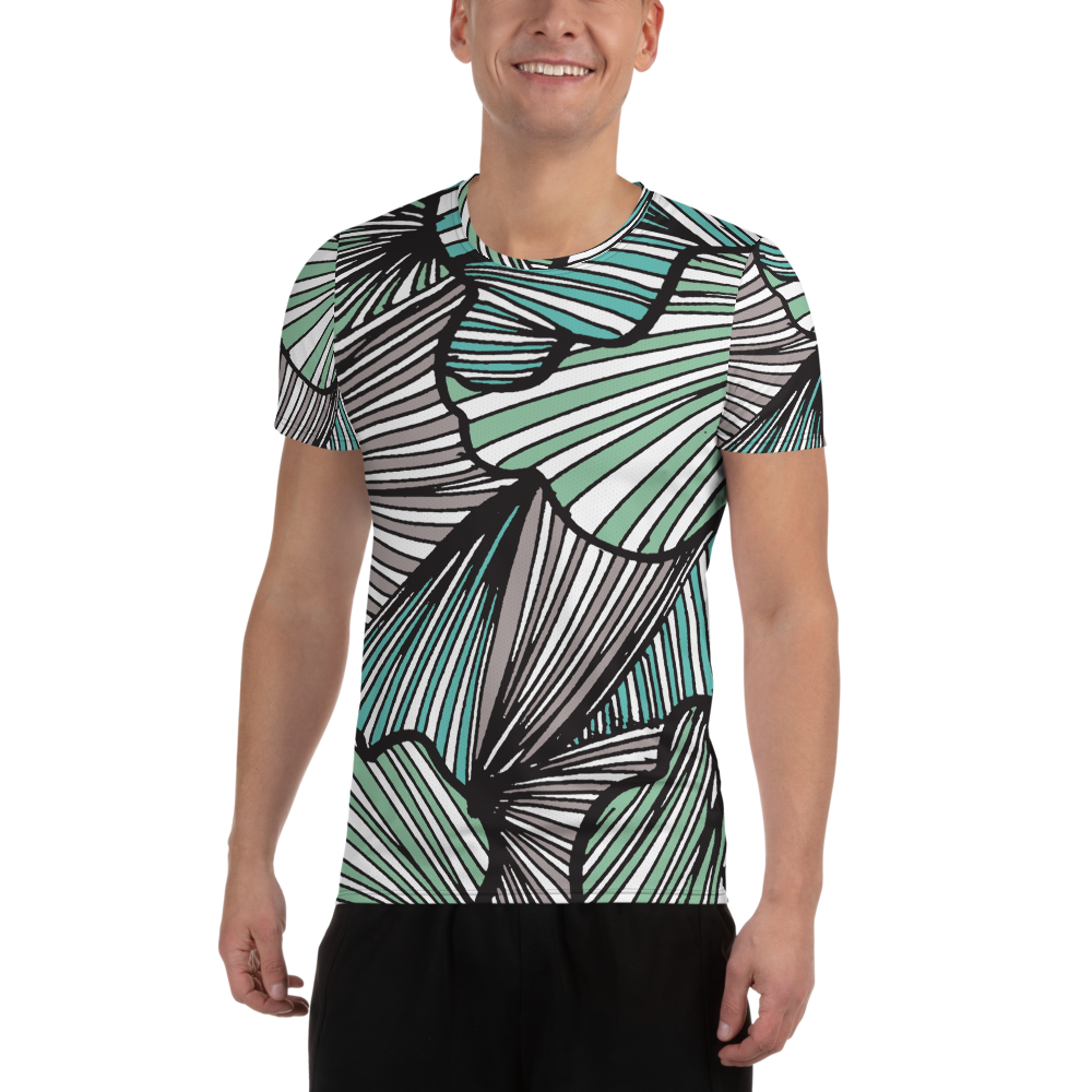 Living Tree Green | Men's Athletic T-Shirt