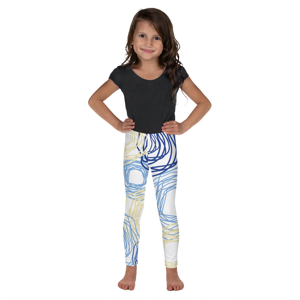 Cheery Flowers | Kid's Leggings