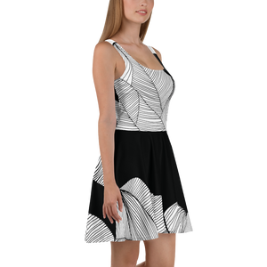Black and White Day | Skater Dress