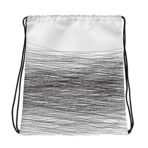 Black Wind | Drawstring Bag