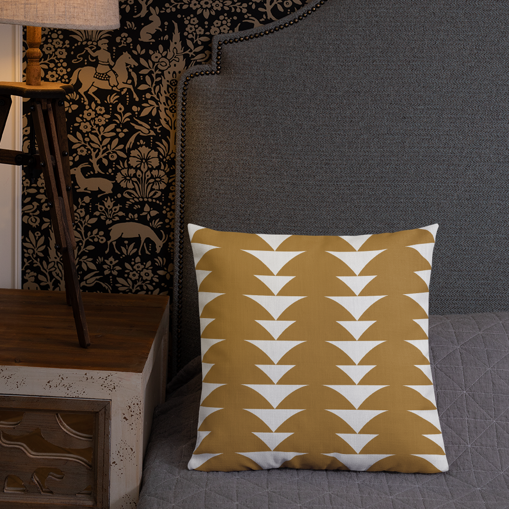 Golden Ornament | Pillow