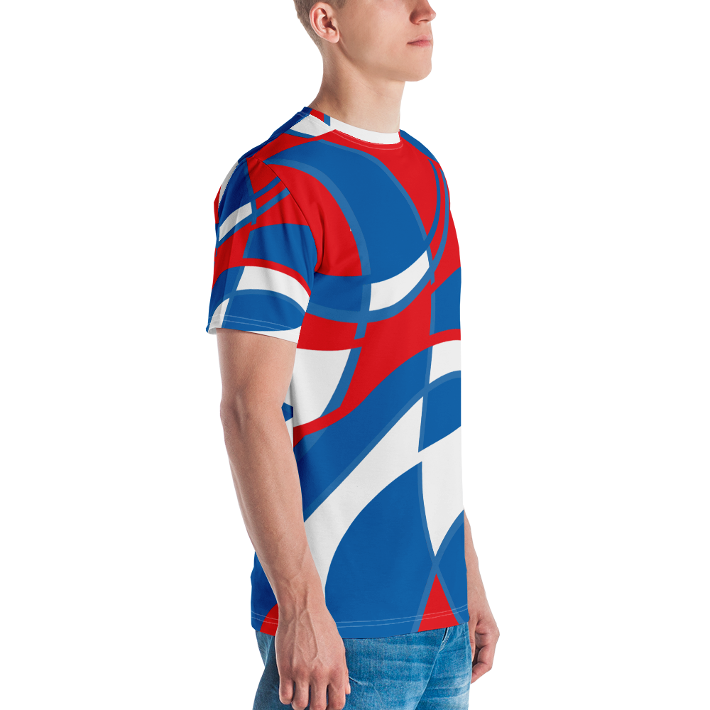 Red, White and Blue | Men's T-Shirt