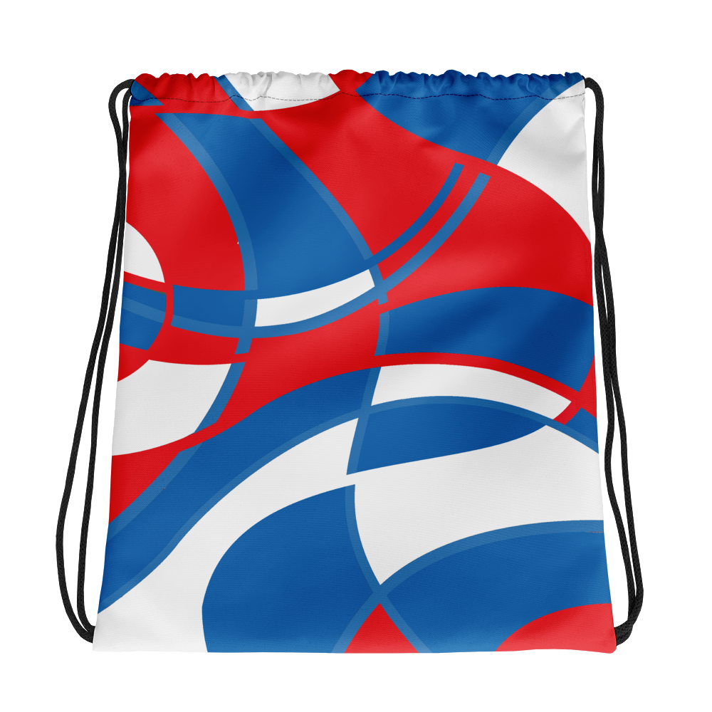 Red, White and Blue | Drawstring Bag