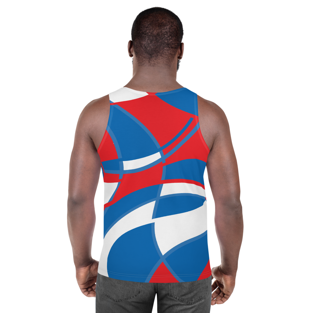 Red, White and Blue | Unisex Tank Top