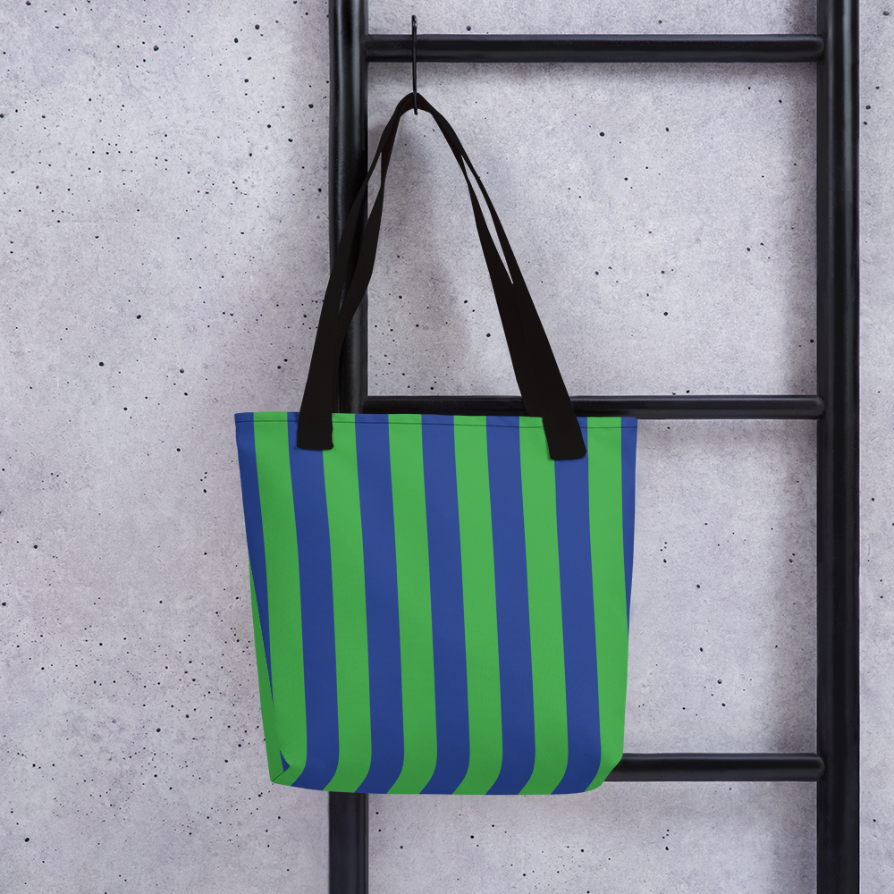 Green and Blue | Tote Bag
