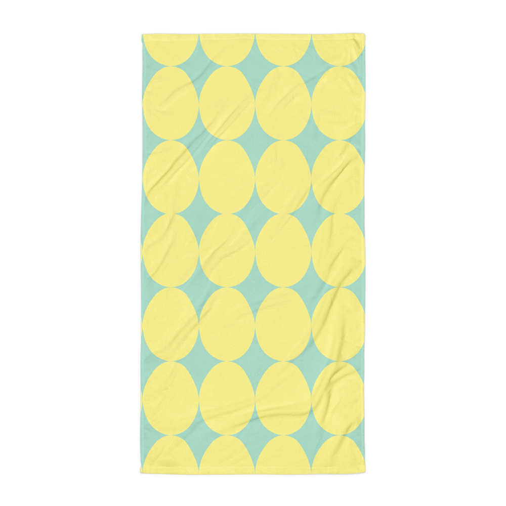 Easter Pattern Yellow | Towel