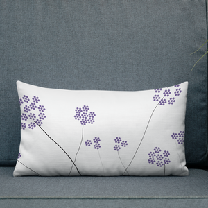 Purple Small Flowers | Pillow