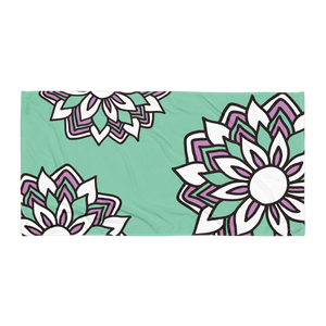 Smiling Flowers | Towel