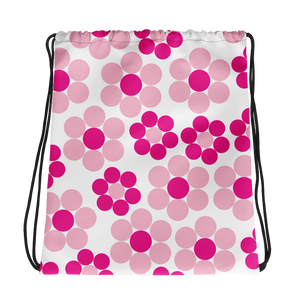 Happy Flowers Ornament | Drawstring Bag