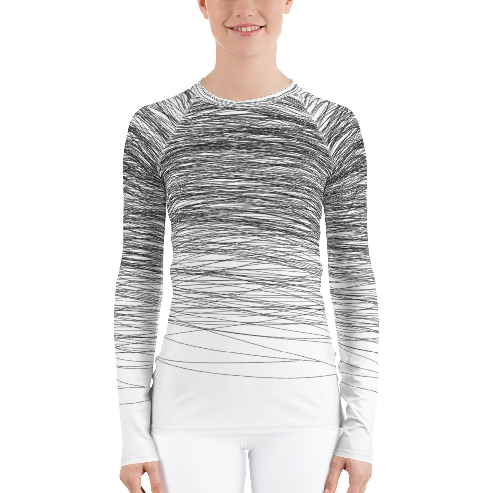 Black Wind | Women's Rash Guard