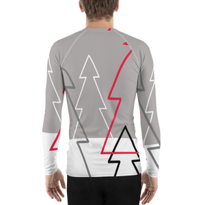 Christmas Tree Forest Colours | Men's Rash Guard