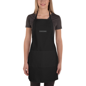 DOWDESIGN. | Embroidered Apron