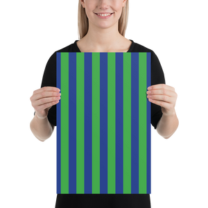 Green and Blue | Poster