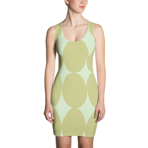 Easter Pattern Olive | Dress