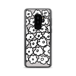 Happy White Flowers | Samsung Case