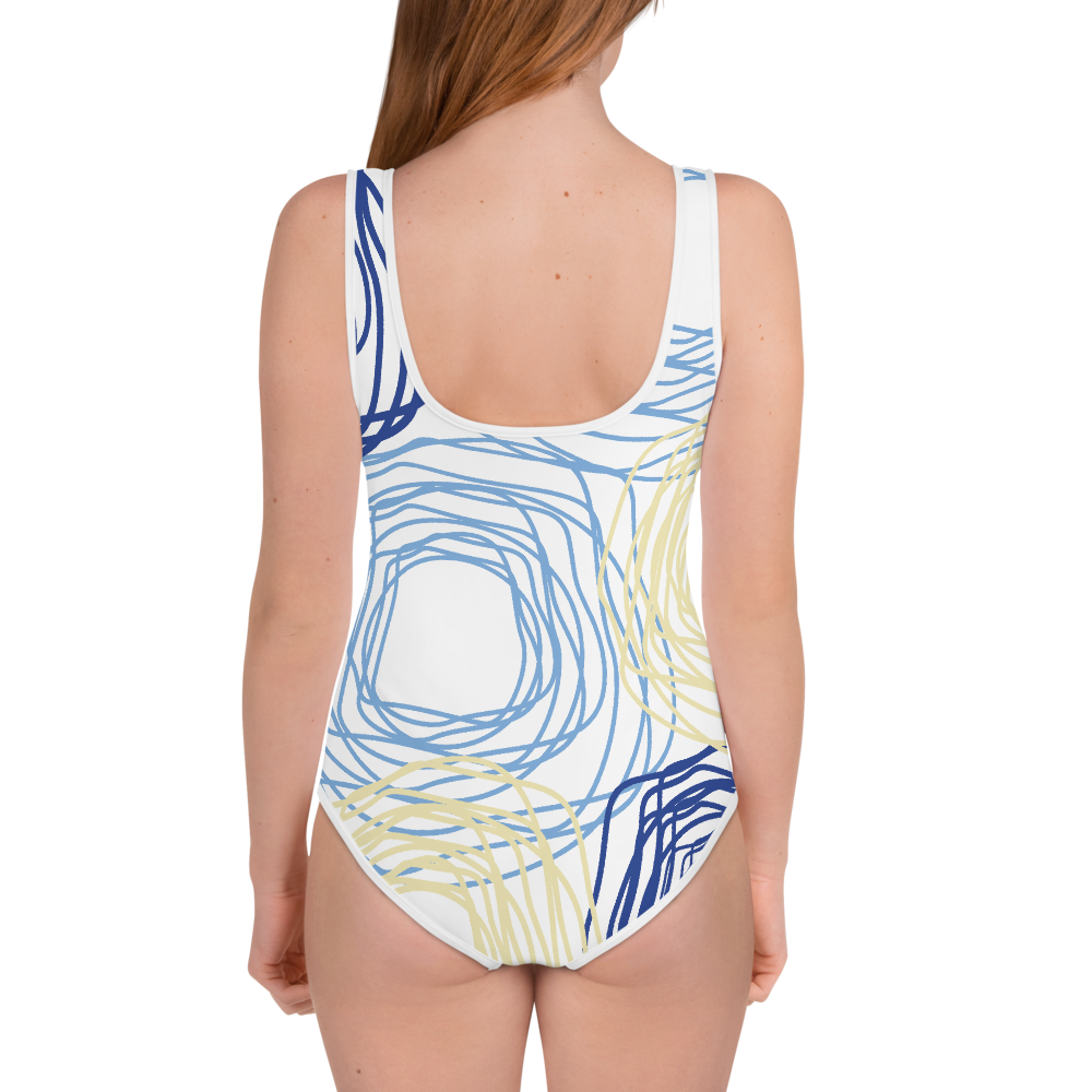 Cheery Flowers | Youth Swimsuit