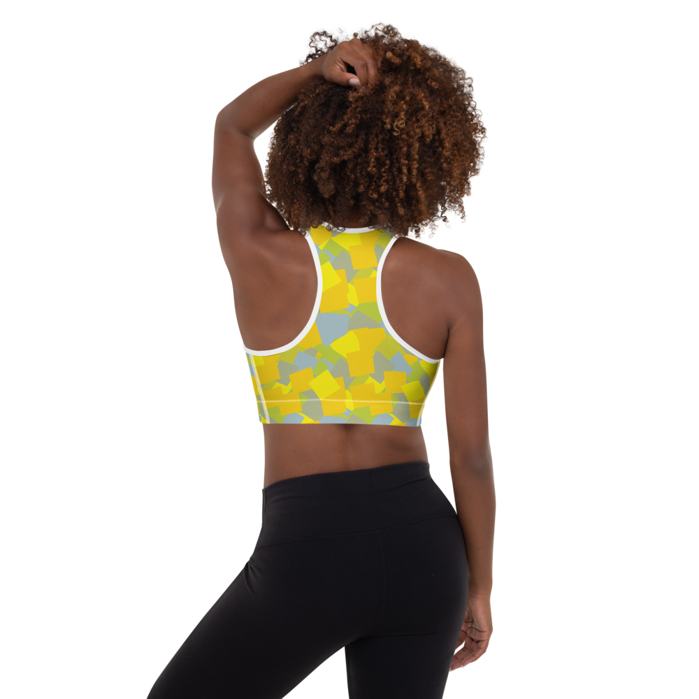 Easter Mix | Padded Sports Bra