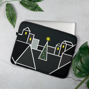 December Eve Print | Laptop Sleeve