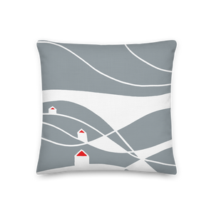 Gray Day | Pillow