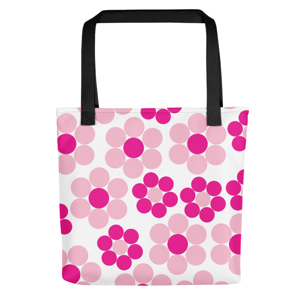 Happy Flowers Ornament | Tote Bag