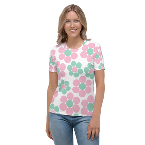 Happy Pastel Flowers | Women's T-Shirt