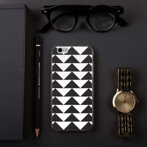 Black and White Triangles | iPhone Case