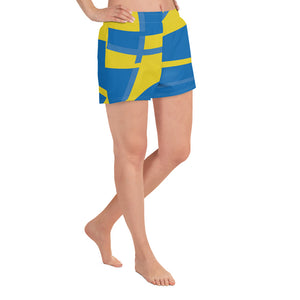 Sweden | Women's Athletic Short Shorts