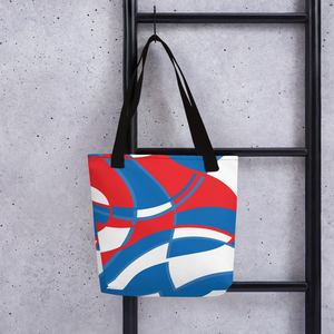 Red, White and Blue | Tote Bag