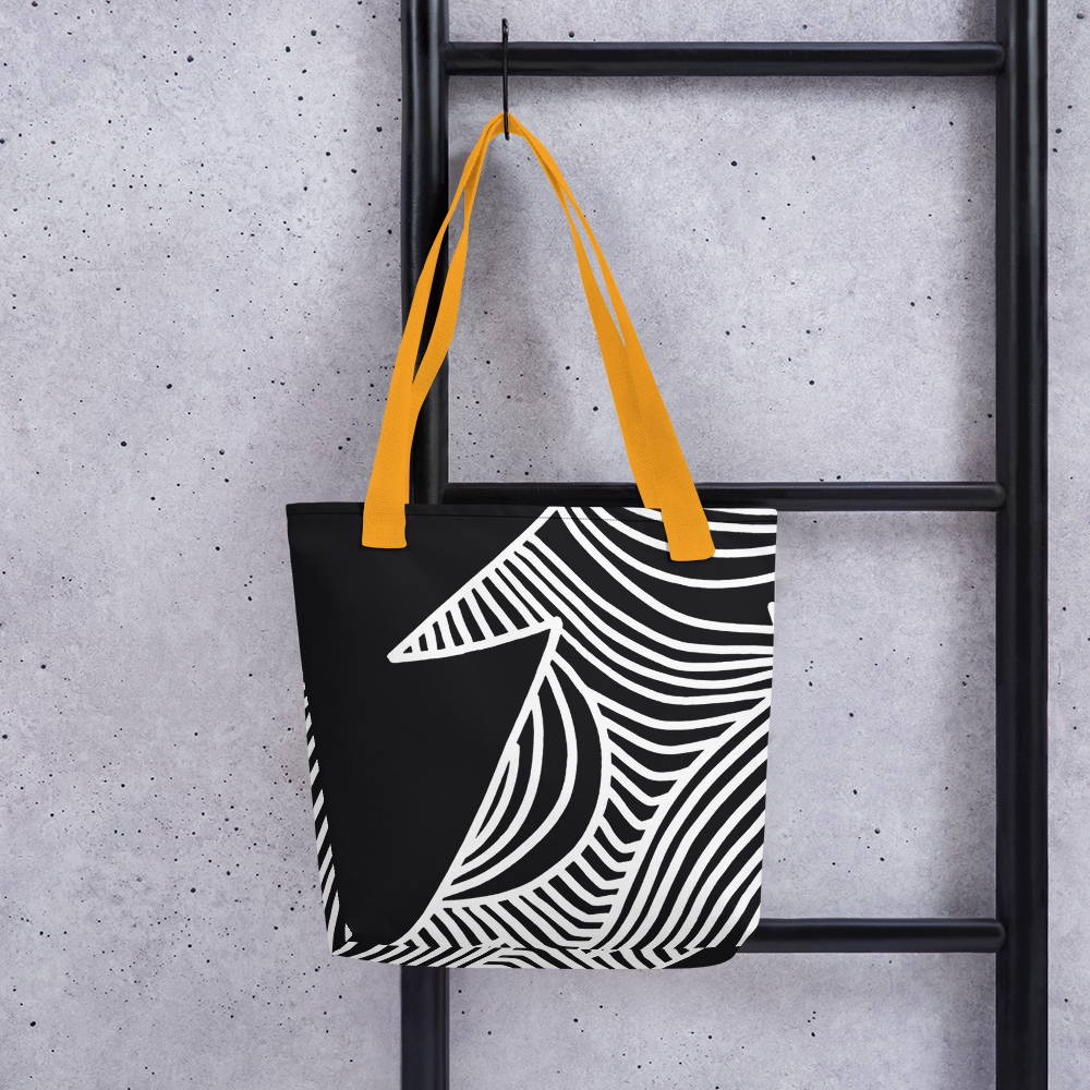 Stars and Trees Black | Tote Bag