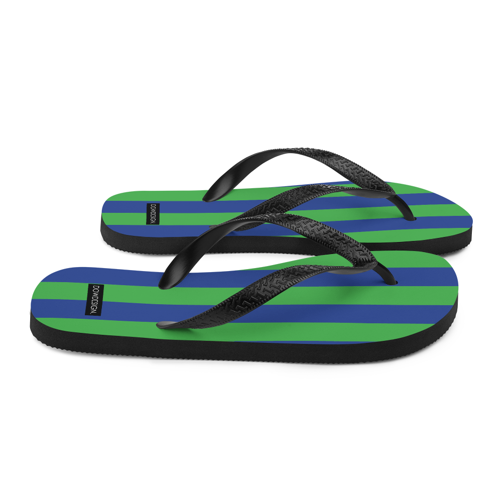 Green and Blue | Flip-Flops