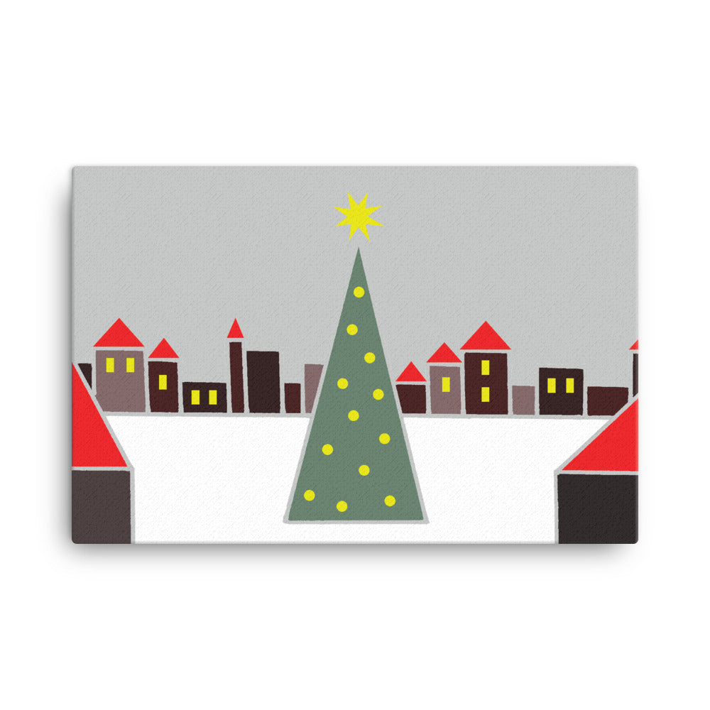 Christmas Market | Canvas