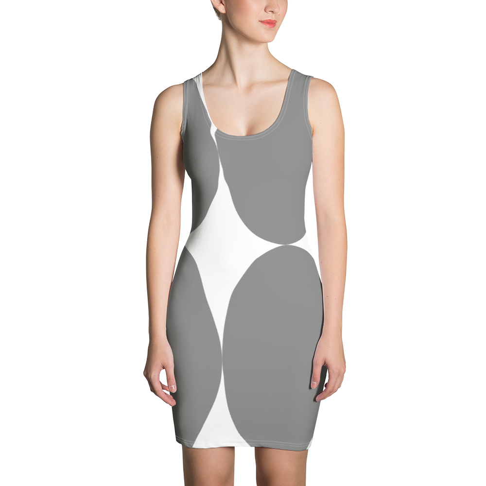 Easter Pattern Gray | Dress