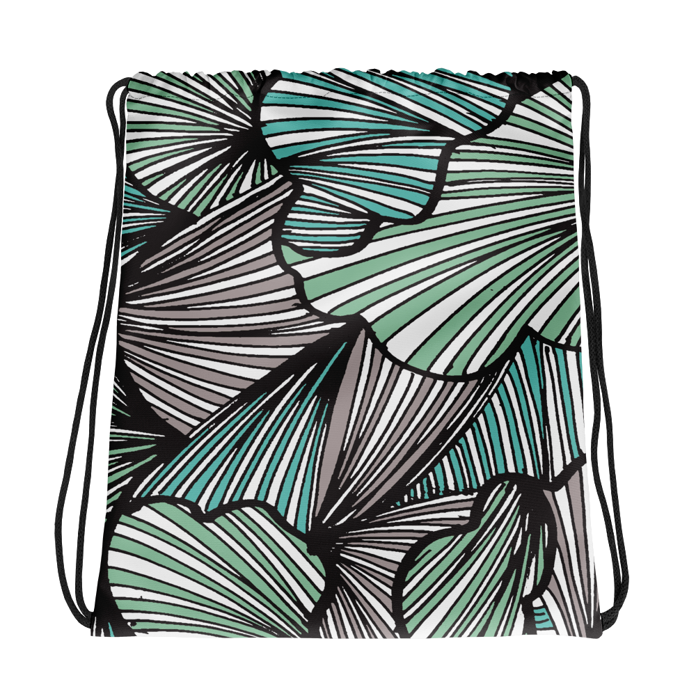 Living Tree Green | Drawstring Bag