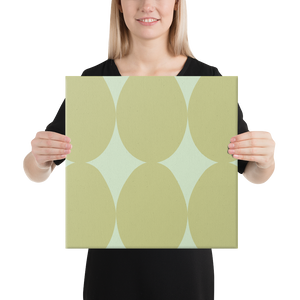 Easter Pattern Olive | Canvas