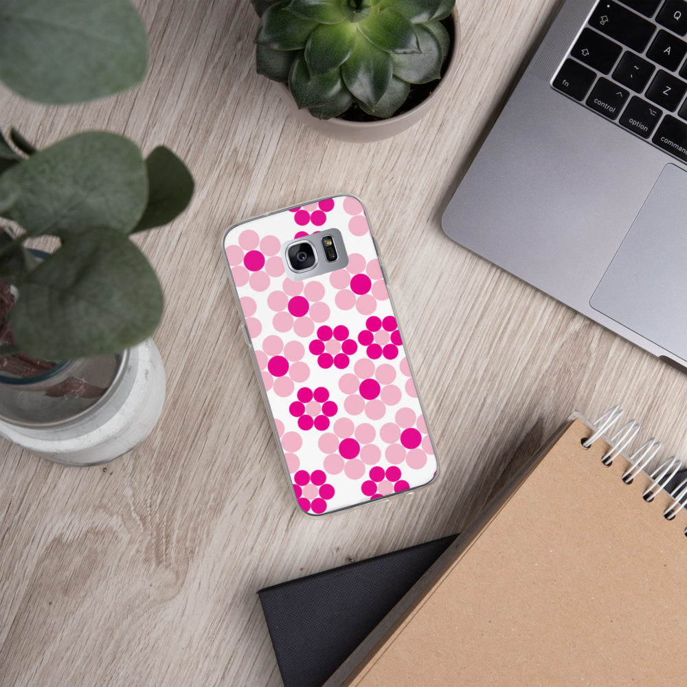 Happy Flowers Ornament | Samsung Case