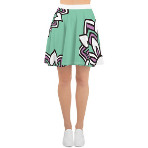 Smiling Flowers | Skater Skirt