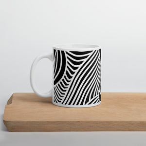 Stars and Trees Black | Mug