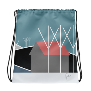 Waiting for Spring | Drawstring Bag