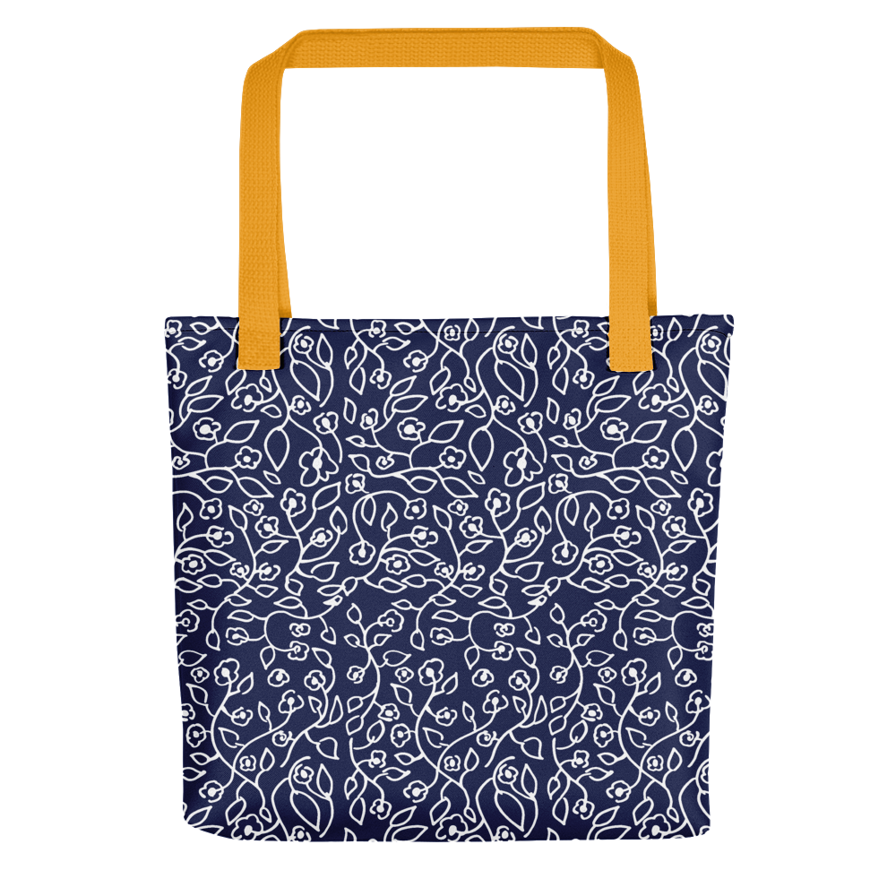 White small flowers | Tote Bag