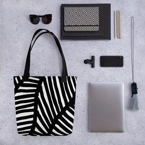 Black and White Ornament | Tote Bag