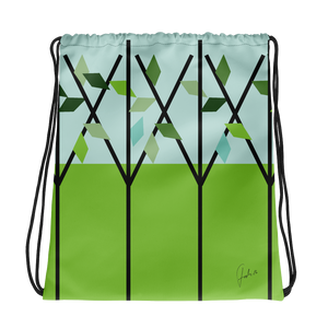 Spring is Here | Drawstring Bag