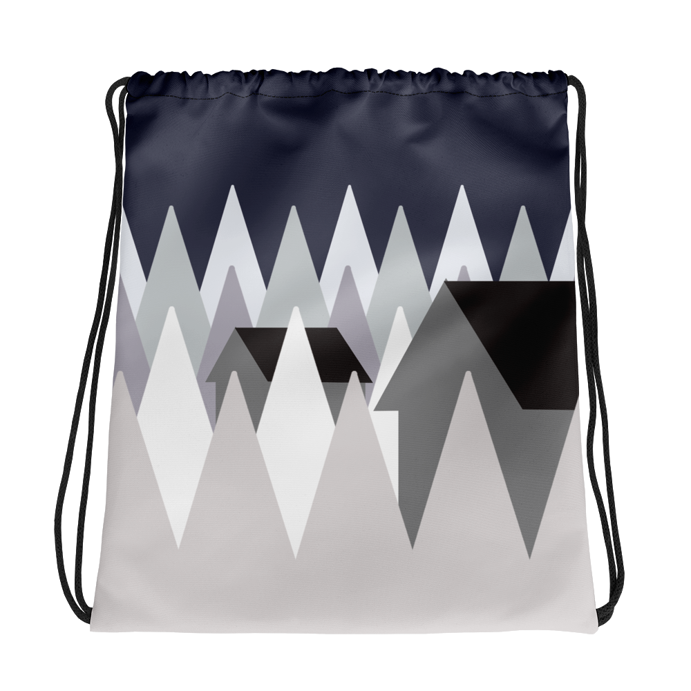 Winter Eve | Drawstring Bag