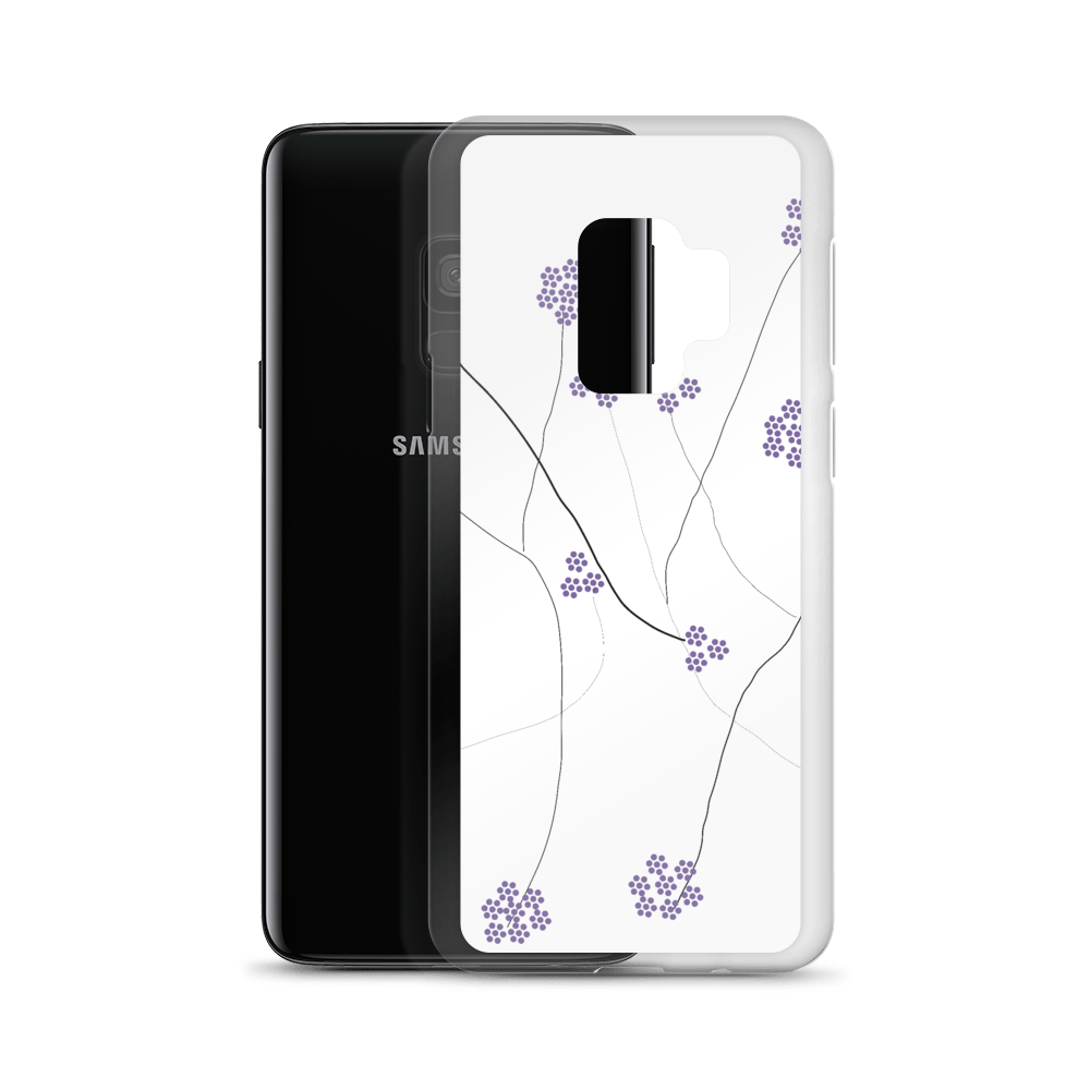 Purple Small Flowers | Samsung Case