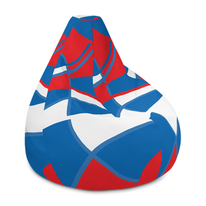 Red, White and Blue | Bean Bag Chair