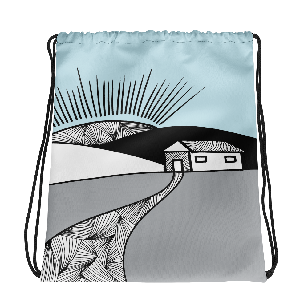 New morning | Drawstring Bag